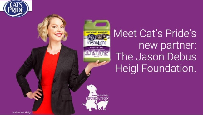 Heigl-Cat Litter