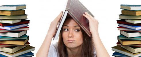 Student-Overwhelmed-Books