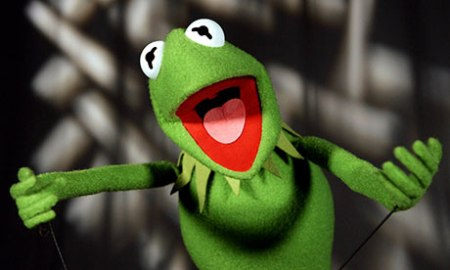 Kermit the Frog celebrates 50 years in show business